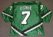 TJ OSHIE North Dakota Fighting Sioux 2007 NCAA Hockey Jersey