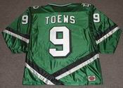 JONATHAN TOEWS North Dakota Fighting Sioux 2006 NCAA Hockey Jersey