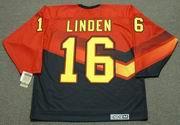 TREVOR LINDEN Vancouver Canucks 1995 CCM Vintage Throwback NHL Jersey