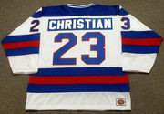 DAVE CHRISTIAN 1980 USA Olympic Hockey Jersey