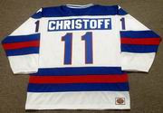 STEVE CHRISTOFF 1980 USA Olympic Hockey Jersey