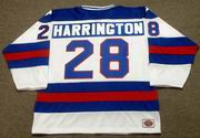JOHN HARRINGTON 1980 USA Olympic Hockey Jersey