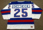 BUZZ SCHNEIDER 1980 USA Olympic Hockey Jersey