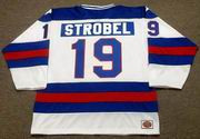 ERIC STROBEL 1980 USA Olympic Hockey Jersey