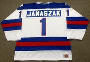 STEVE JANASZAK 1980 USA Olympic Hockey Jersey