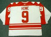 GORDIE HOWE 1974 Team Canada Nike Throwback Hockey Jersey 