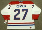 SHAYNE CORSON Montreal Canadiens 1989 CCM Throwback Home NHL Jersey