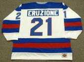 MIKE ERUZIONE 1980 USA Olympic Hockey Jersey