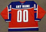 "Russia 2002 Nike Olympic Hockey Jersey  Customized ""Any Name & Numbers"""
