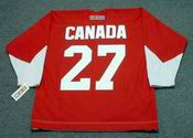 FRANK MAHOVLICH Team Canada 1972 CCM Throwback Hockey Jersey