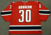 MARTIN BRODEUR 2002 Team Canada Nike Olympic Throwback Hockey Jersey
