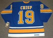 TERRY CRISP St. Louis Blues 1967 CCM Vintage Throwback NHL Hockey Jersey