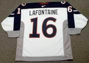 PAT LAFONTAINE 1998 USA Nike Olympic Throwback Hockey Jersey