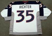 MIKE RICHTER 1998 USA Nike Olympic Throwback Hockey Jersey