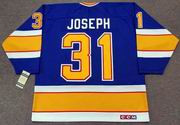 CURTIS JOSEPH St. Louis Blues 1991 CCM Vintage Throwback NHL Hockey Jersey