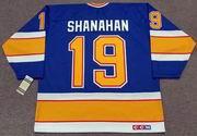 BRENDAN SHANAHAN St. Louis Blues 1991 CCM Vintage Throwback NHL Hockey Jersey