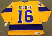 MARCEL DIONNE Los Angeles Kings 1970's CCM Vintage Throwback Home NHL Jersey