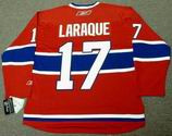 GEORGES LARAQUE Montreal Canadiens REEBOK RBK Premier Home NHL Hockey Jersey