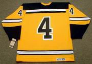 BOBBY ORR Boston Bruins 1966 CCM Vintage Throwback Home NHL Hockey Jersey