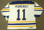 GILBERT PERREAULT Buffalo Sabres 1984 CCM Vintage Throwback Home Hockey Jersey