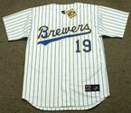 ROBIN YOUNT Milwaukee Brewers 1993 Majestic Cooperstown Home Jersey