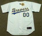 "MILWAUKEE BREWERS 1990's Majestic Cooperstown Jersey Customized ""Any Name & Number(s)"""