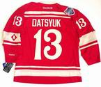 "PAVEL DATSYUK Detroit Red Wings Reebok 2014 ""Winter Classic"" NHL Jersey"