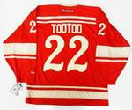 "JORDIN TOOTOO Detroit Red Wings Reebok 2014 ""Winter Classic"" NHL Jersey"