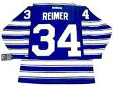 "JAMES REIMER Toronto Maple Leafs Reebok 2014 ""Winter Classic"" NHL Jersey"