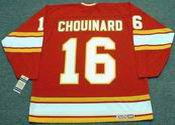 GUY CHOUINARD Atlanta Flames 1978 CCM Vintage Throwback Away NHL Hockey Jersey