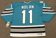 OWEN NOLAN San Jose Sharks 1996 CCM Vintage Throwback NHL Hockey Jersey
