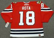 DARCY ROTA Chicago Blackhawks 1975 CCM Throwback NHL Hockey Jersey
