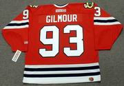 DOUG GILMOUR Chicago Blackhawks 1999 CCM Throwback NHL Hockey Jersey