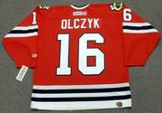 ED OLCZYK Chicago Blackhawks 1985 CCM Throwback NHL Hockey Jersey