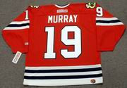 TROY MURRAY Chicago Blackhawks 1985 CCM Throwback NHL Hockey Jersey