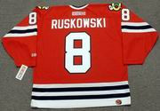 TERRY RUSKOWSKI Chicago Blackhawks 1981 CCM Throwback NHL Hockey Jersey