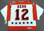 "TIM KERR 1986 Wales ""All Star"" CCM Vintage Throwback NHL Hockey Jersey"