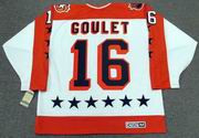 "MICHEL GOULET 1986 Wales ""All Star"" CCM Vintage Throwback NHL Hockey Jersey"