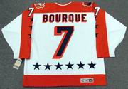 "RAYMOND BOURQUE 1984 Wales ""All Star"" CCM Vintage Throwback NHL Hockey Jersey"