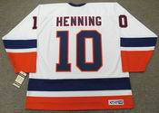 LORNE HENNING New York Islanders 1978 CCM Vintage Home NHL Hockey Jersey