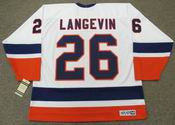 DAVE LANGEVIN New York Islanders 1982 CCM Vintage Home NHL Hockey Jersey