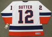 DUANE SUTTER New York Islanders 1982 CCM Vintage Home NHL Hockey Jersey