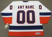 "NEW YORK ISLANDERS 1980's CCM Vintage Home Jersey Customized ""Any Name & Number(s)"""
