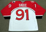 JOE SAKIC 1998 Team Canada Nike Olympic Throwback Hockey Jersey