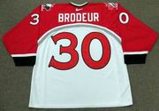 MARTIN BRODEUR 1998 Team Canada Nike Olympic Throwback Hockey Jersey