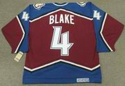 ROB BLAKE Colorado Avalanche 2001 CCM Vintage Throwback NHL Hockey Jersey