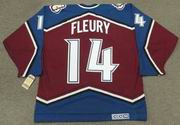 THEOREN FLEURY Colorado Avalanche 1999 CCM Vintage Throwback NHL Hockey Jersey