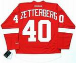 HENRIK ZETTERBERG Detroit Red Wings REEBOK Home NHL Hockey Jersey