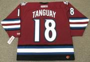 ALEX TANGUAY Colorado Avalanche 2005 CCM Throwback Alternate NHL Hockey Jersey