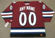 "COLORADO AVALANCHE 2002 CCM Throwback Alternate Jersey Customized ""Any Name & Number(s)"""